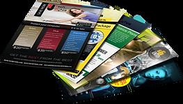 Graphic-design-leaflets