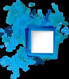 Square-blue-paint-splat