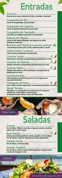 Entradas e Saladas