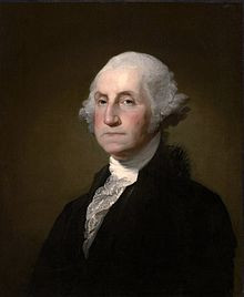 Portrait of George Washington restored with the help of the NSDAR and the WHP chapter.