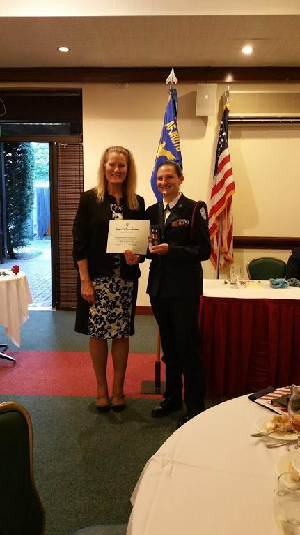 Annual ROTC awards