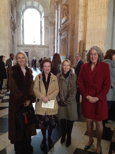Nancy Rousset, Nancy Jirtle, Adrienne Pitman, Holly Smith, St. Paul's Cathedral 2016