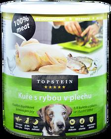 TOPSTEIN Kuře s rybou v plechu