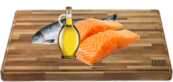 100% olej z lososa