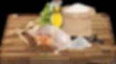 Rýže, kuřecí moučka, drůbeží tuk, sušené řepné řízky, rybí moučka, lněné semínko, sušené lusky svatojánského chleba, pivovarské kvasnice, chondroitin, L-karnitin, taurin.