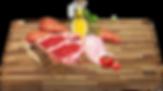 Sladké brambory (35%), jehně (20%), hrachový škrob, drůbeží tuk, králík (10%), vojtěška, rajčata, mrkev, cukrová řepa, vejce, lněné semínko, vitamíny a minerální látky, lososový olej, brusinky, inulin, juka, glukosamin, chondroitin, taurin, M.O.S. methionin, lysin, L-carnitin.