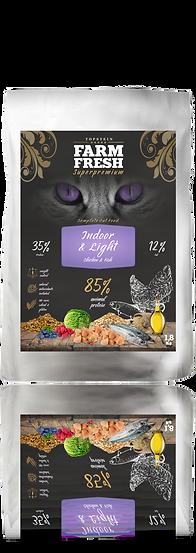 Farm Fresh Cat Indoor/Light Chicken and Fish
