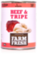 Farm Fresh beef & tripe