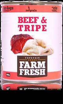 Farm Fresh beef & tripe