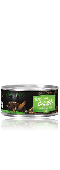 Farm Fresh Whole Crickets in their own broth