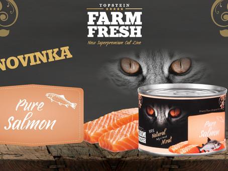 Farm Fresh Cat Pure Salmon: Opravdová pochoutka