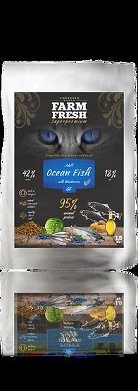 Farm Fresh Cat Ocean Fish and Bluebberies Grain Free
