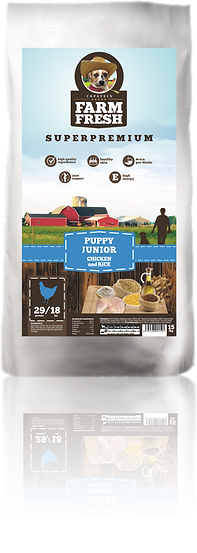 Farm Fresh Puppy Junior Chicken and Rice
