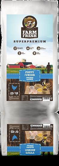 Farm Fresh Puppy Junior Chicken and Rice