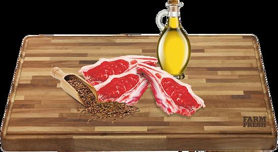 Jehněčí maso (srdce, maso, plíce, játra, dršťky,) 70%, jehněčí vývar28,9%, minerály 1%, lněný olej 0,1%