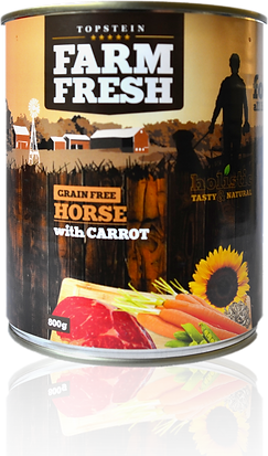 Farm Fresh horse with carrot