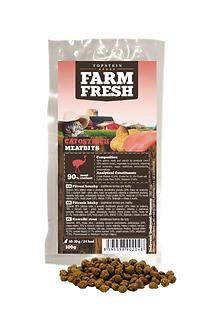 Farm Fresh Pamlsek s pštrosem pro kočky