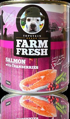 Farm Fresh salmon with cranberries