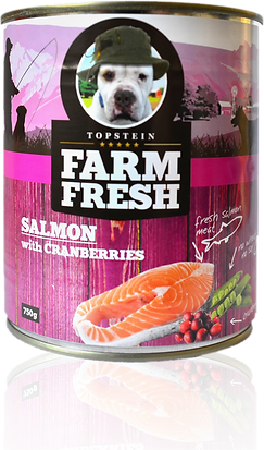 Farm Fresh salmon with cranberries