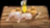 Sušené kuřecí maso (35%), sušené brambory, bramborový škrob, hrášek, sušená vejce, pivovarské kvasnice, sušené řepné řízky, drůbeží tuk, lněné semínko, lecitin, L-Carnitin, taurin.