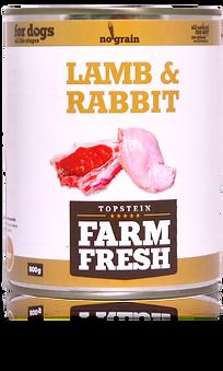 Farm Fresh lamb & rabbit