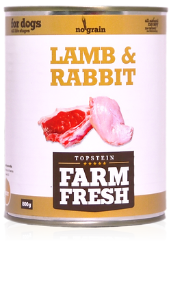 Farm Fresh lamb & rabbit