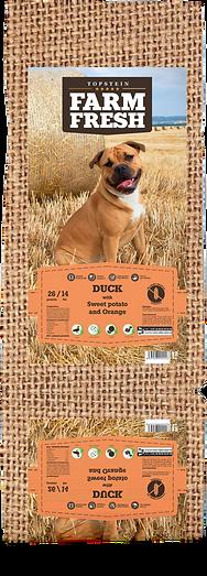 Farm Fresh Duck with Sweet Potato and Orange