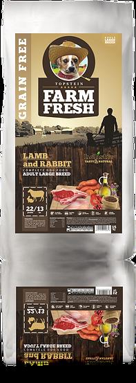 Farm Fresh Lamb and Rabbit Adult Large Breed