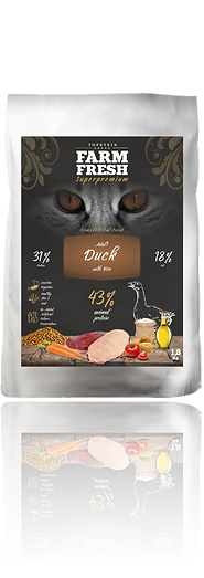 Farm Fresh Cat Adult Duck and Rice