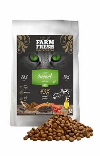 Fram Fresh granule s hmyzem pro kočky