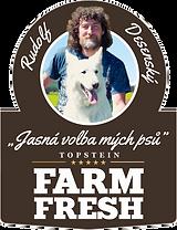 Samolepka Farm Fresh Rudolf Desenský