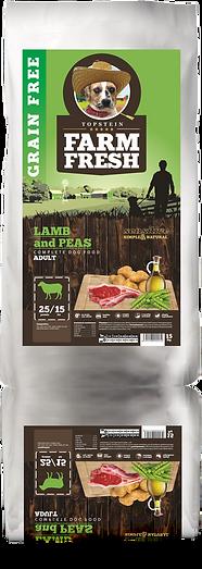 Farm Fresh Lamb and Peas Adult