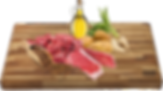 Čerstvé hovězí maso 24%, tapioka 24%, sušené hovězí maso, brambory 20%, bramborový protein, kuřecí tuk, cukrová řepa, pivovarské kvasnice, sušená a rozemleté lusky svatojánského chleba, lososový olej, minerály, droždí 1%, inulin z cikorky 0,2% (zdroj FOS), mannan-oligosacharidy 0,2%, glukosamin 0,037%, chondroitin 0,026%.