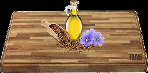 Lněný olej, rozmarýnový extrakt