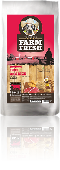 Farm Fresh Beef and Rice Adult