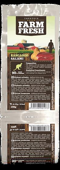 Farm Fresh Kangaroo salami