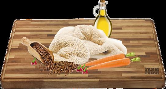 Maso a vedlejší produkty z masa 62% hovězí dršťky, 5% mrkev, 3% brusinky, minerální látky, oleje a tuky (lněný olej 0,1%)