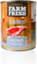 Farm Fresh lamb monoprotein