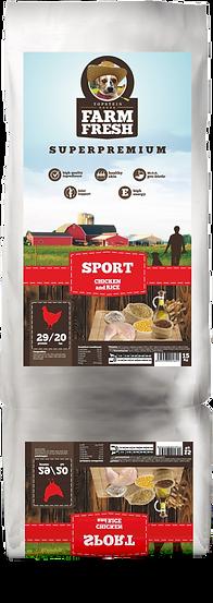 Farm Fresh Sport Chicken and Rice