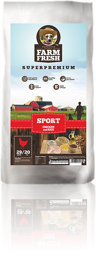 Farm Fresh Sport Chicken and Rice