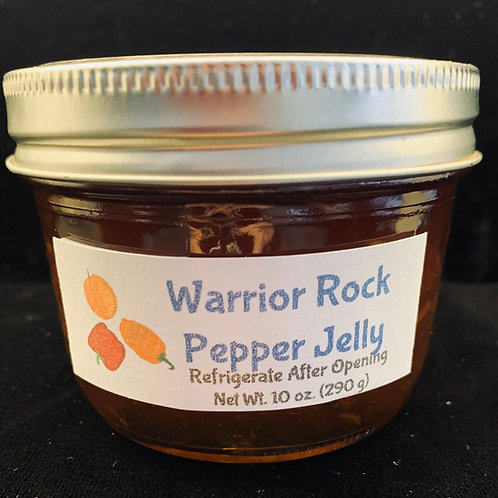 Warrior Rock Pepper Jelly (4 oz.)