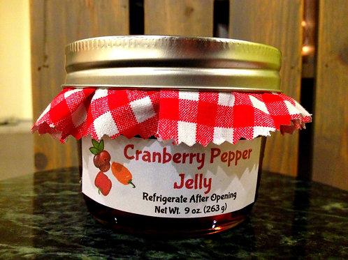Cranberry Pepper Jelly (8 oz.)