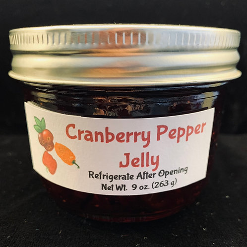 Cranberry Pepper Jelly (8 oz.)