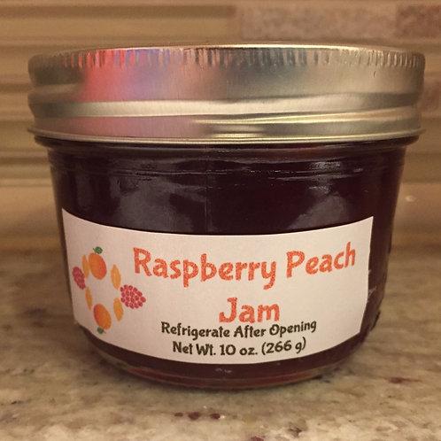Raspberry Peach Jam (8 oz.)