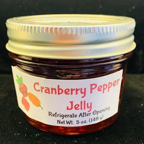 Cranberry Pepper Jelly (4 oz.)
