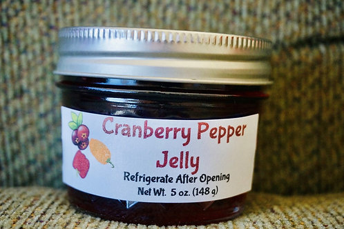 Cranberry Pepper Jelly (4 oz.)