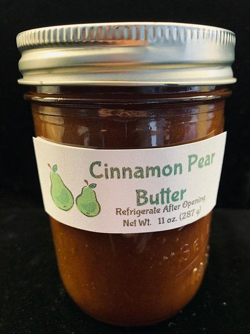 Cinnamon Pear Butter (8 oz.)