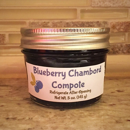 Blueberry Chambord Compote (4 oz.)