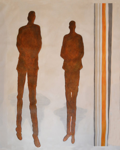 Abstract Figurative by Jane Evans