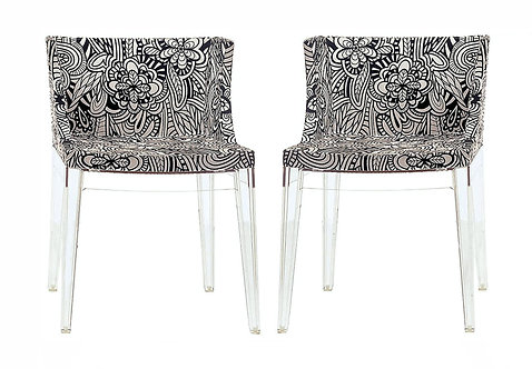 Pair Vintage Philippe Starck Chairs for Kartell